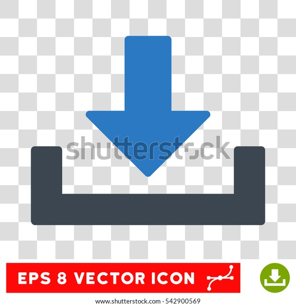 Vector Download EPS vector pictograph. Illustration style is flat iconic bicolor smooth blue symbol on a transparent background.