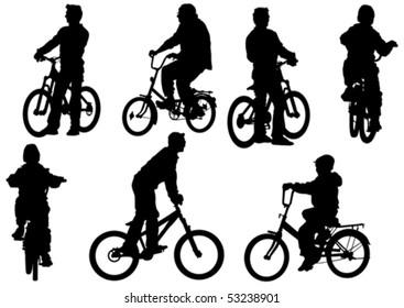 Ilustraciones, imágenes y vectores de stock sobre Boy On Bmx