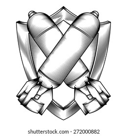 Atomic Bomb Ww2 Stock Vectors Images Vector Art
