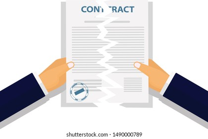 Contract Termination Images, Stock Photos & Vectors