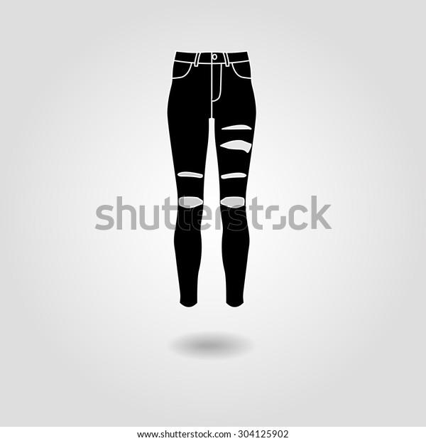 Skinny Weißes Mädchen Zerstört