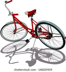 Bicycle Drawing Images Stock Photos Vectors Shutterstock