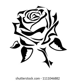 Small Rose Tattoo Images Stock Photos Vectors Shutterstock