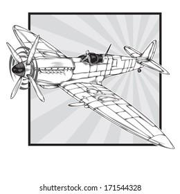 Ww2 British Pilot Stock Illustrations Images Vectors Shutterstock
