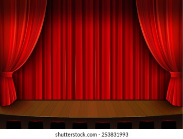 Curtains For The Drawing Images Stock Photos Amp Vectors