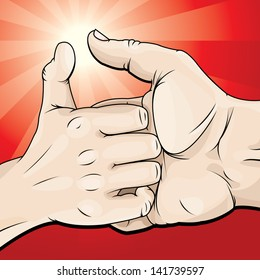 vector-drawing-thumb-warthumb-war-260nw-141739597.jpg