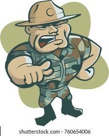 Vector drill sergeant