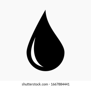 Vector drops of water, gasoline, oil or other liquid for web sites and applications.