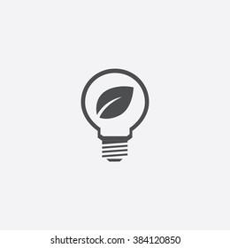Vector eco energy Icon