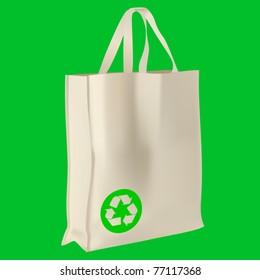 vector ecological bag