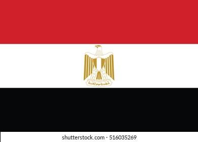 Vector Egypt flag, Egypt flag illustration, Egypt flag picture, Egypt flag image,