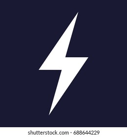 Vector electricity icon