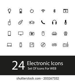 Vector Electronic Icons
