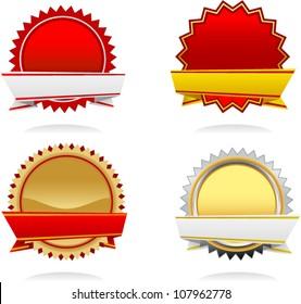 vector elegance starbursts set