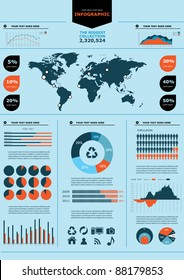 Vector elements set of infographics. eps 10