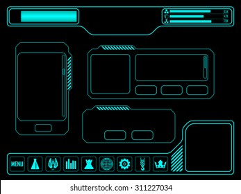 Vector elements for space video game