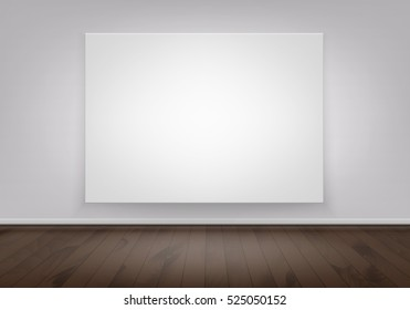 Wall Painting Mockup Stock Vectors Images Vector Art Shutterstock