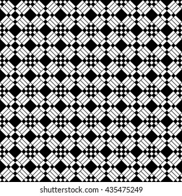 Vector. Endless stylish seamless pattern. Template for design textile, backgrounds, wrappers, package, wallpaper