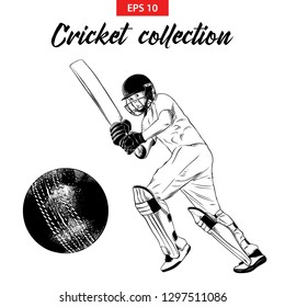 Cricket Game Doodles Images Stock Photos Vectors