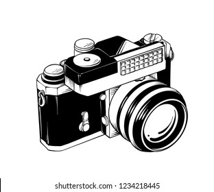 Camera Clipart Images Stock Photos Vectors Shutterstock