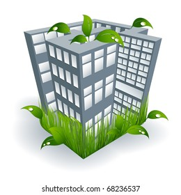vector environmental concept elements for your design