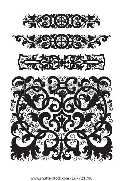 Prime Vector Eps8 Vintage Design Elements Spanish Stock Vector Download Free Architecture Designs Fluibritishbridgeorg