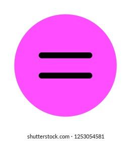 vector equal sign symbol