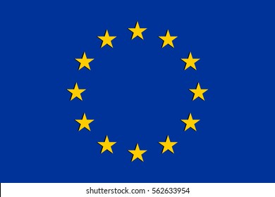 Vector EU Flag
