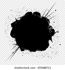 Vector Explosion Isolated on Transparent Background | EPS10 Design Illustration