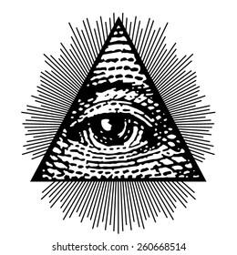 Vector Eye of  Providence