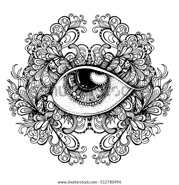 Vector Fashion Illustration Isolated Print Tshirt Stock Vector Royalty Free 552780496