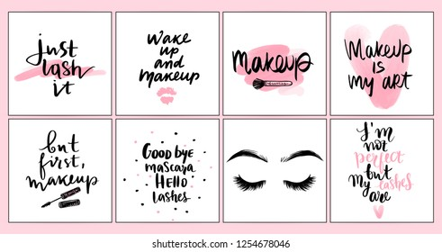 Makeup Quotes Images, Stock Photos \u0026 Vectors