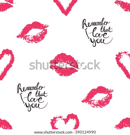 Vector fashion sketch. Hand drawn graphic glossy and shine remember that I  love you 95c66bb68d