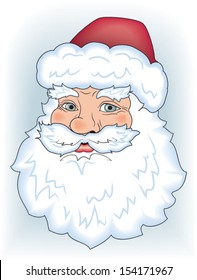 Vector Father Frost (Santa Claus)