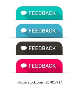 Vector Feedback Icons Set