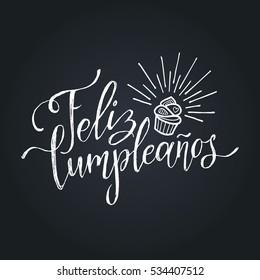 Happy Birthday Spanish Images Stock Photos Vectors Shutterstock