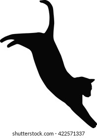 Vector file of cat silhouette 25