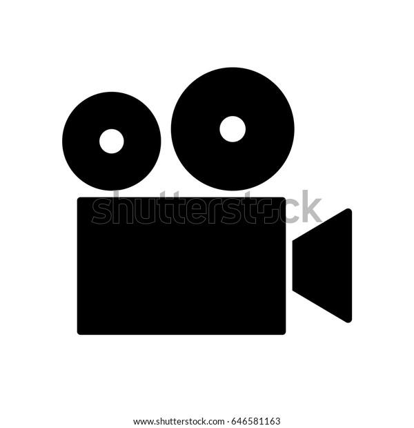 Vector Film Camera Logo