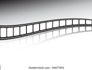 Vector film strip background