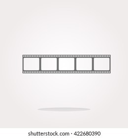 vector film strip, film strip Icon