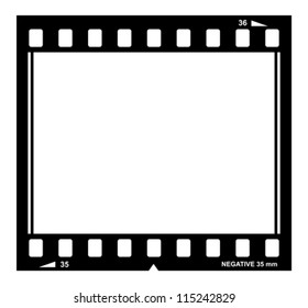 Vector film strip illustration