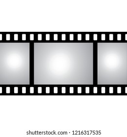 vector film strip with space for your text or image seamless iluustration