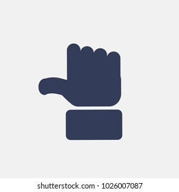 Vector finger icon