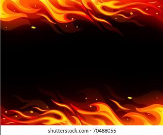 Vector fire card