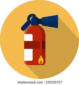 Vector Fire Extinguisher