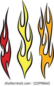 Vector Fire and Flame Graphics