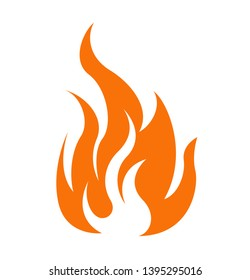 Vector fireball on white background. Fireball Icon.