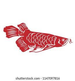 Vector fish Illustration