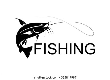 vector fishing catfish
