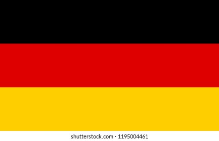 Vector Flag of Germany
